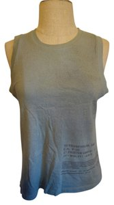 DKNY Blue Grey Casual Top Pastal Blue/Grey