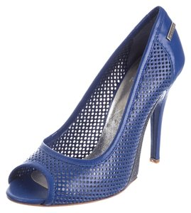 Gianfranco Ferre Leather Pump Stiletto Summer Blue Pumps
