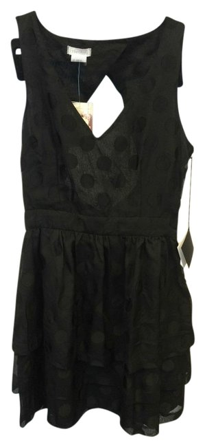 Cooperative Polka Dot Tiered Urban Outfitters Night Out Dress