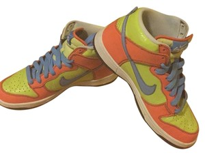 Nike Lime, blue and orange Athletic
