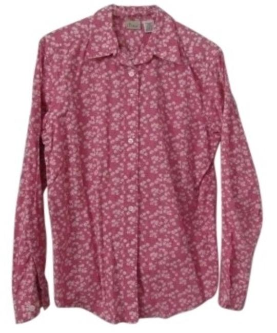 Preload https://img-static.tradesy.com/item/143320/pink-ll-ben-long-sleeve-100-cotton-blouse-size-10-m-0-0-650-650.jpg