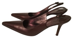 Amalfi Brown/Bronze Sheen Pumps