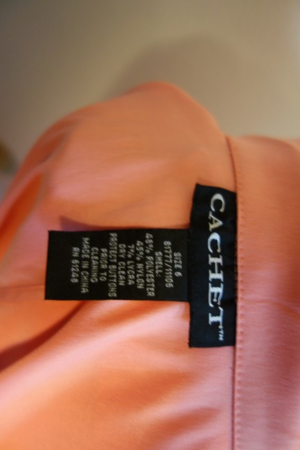 Cachet Elegant And Sexy Sexy Button Down Shirt Peach Pink