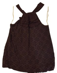 Ella Moss Top Brown