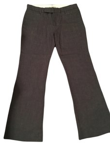 Gap Boot Cut Pants Brown with Blue Specs