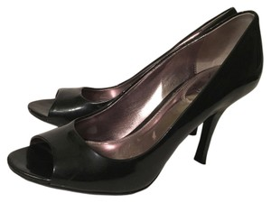 Calvin Klein Peep Toe Black Pumps