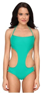 Body Glove Body Glove Smoothies Cassie Bandeau Underwire One-Piece XL Emerald