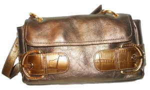 Franco Sarto Leather Shoulder Bag