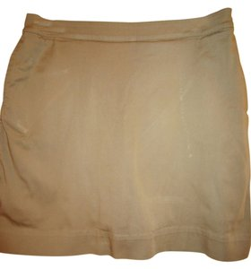 Chico's Mini Skirt Tan