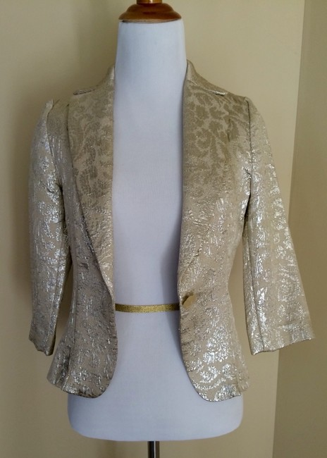 Alexia Admor Light Gold Blazer