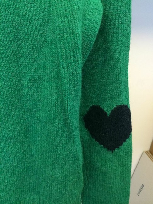 Other Heart Elbow Pads Wool C Sweater