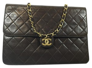 Chanel Two Way Quilted Lambskin Shoulder Bag