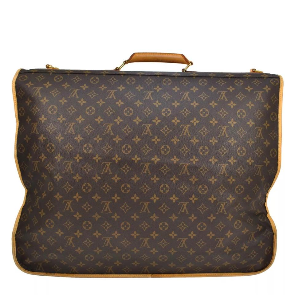 f29fef5ec0e5 Louis Vuitton Garment Cover Monogram Canvas Weekend Travel Bag - Tradesy