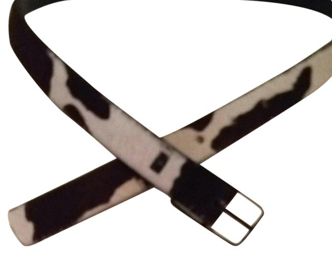 Item - Browns and White Pony Print Belt