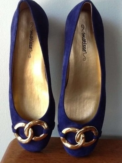 Matisse Royal Blue Flats