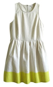 Gap short dress beige Linen Linen on Tradesy