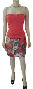 Marciano Sleeveless Size Small Pink Top salmon