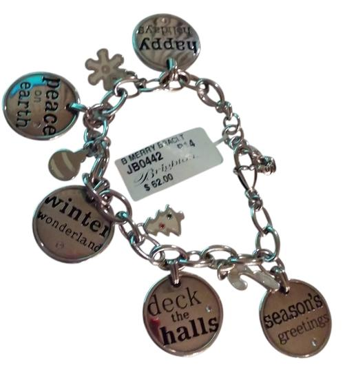 Brighton Brighton B Merry Charm Bracelet RETIRED Hard To Find