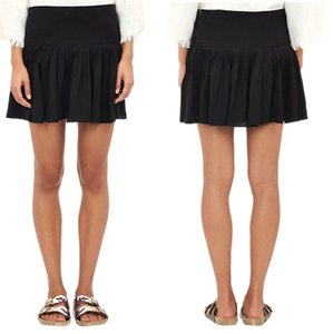 Isabel Marant Etoile Pleated Pleated Mini Skirt black