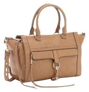 Rebecca Minkoff Bowery New Satchel in Tan