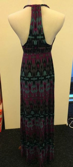 Maxi Dress by R Jean Multi Colored Maxi Halter