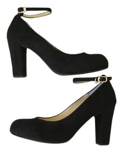 Other Suede Platform Suede Platforms Ankle Strap black Pumps