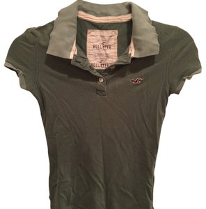 Hollister Button Down Shirt Green