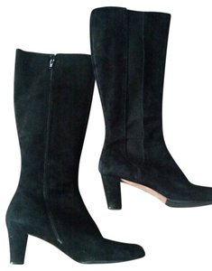 Tahari Sueded= Black Boots