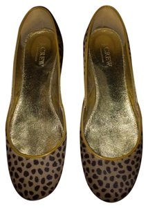 J.Crew Collection Calf Hair Leopard Flats