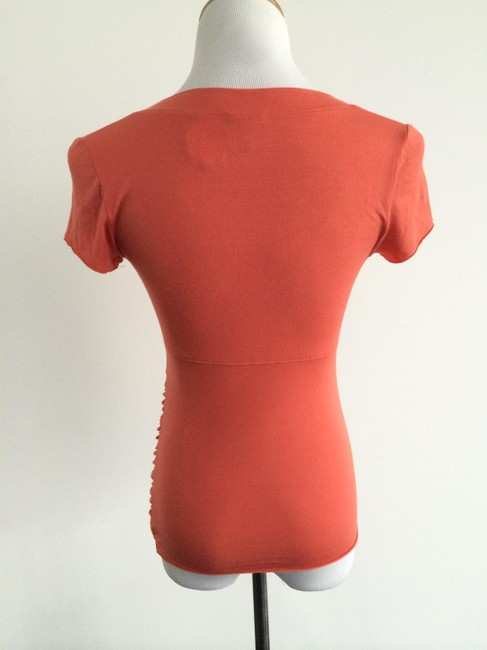 A Pea In The Pod Maternity T Shirt Orange