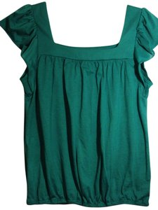 Other Plus-size Top Green