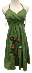 Maternal America short dress Green Maternity Baby Spring on Tradesy