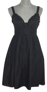 Jill Stuart Little Beaded Cotton Sweetheart Dress