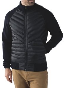 Lululemon Sweater Merino Wool Black Jacket