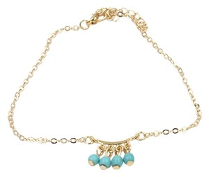 Other Gold plated Turqouis Anklet 8.5
