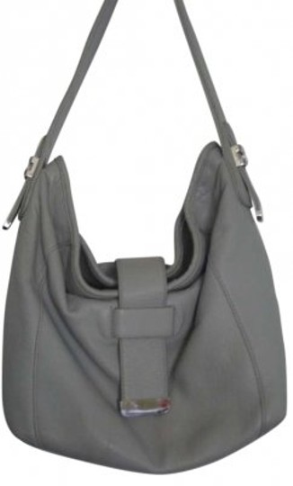 Preload https://item2.tradesy.com/images/liz-claiborne-soft-with-silver-tone-hardware-grey-leather-hobo-bag-143386-0-0.jpg?width=440&height=440