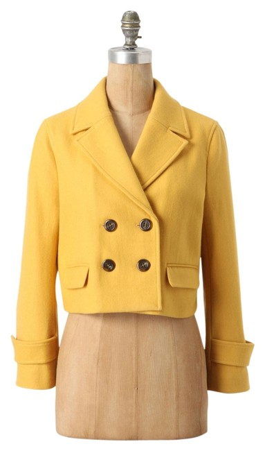 Item - Gold New with Tags Cartonnier Luisa Cropped Coat Size 6 (S)