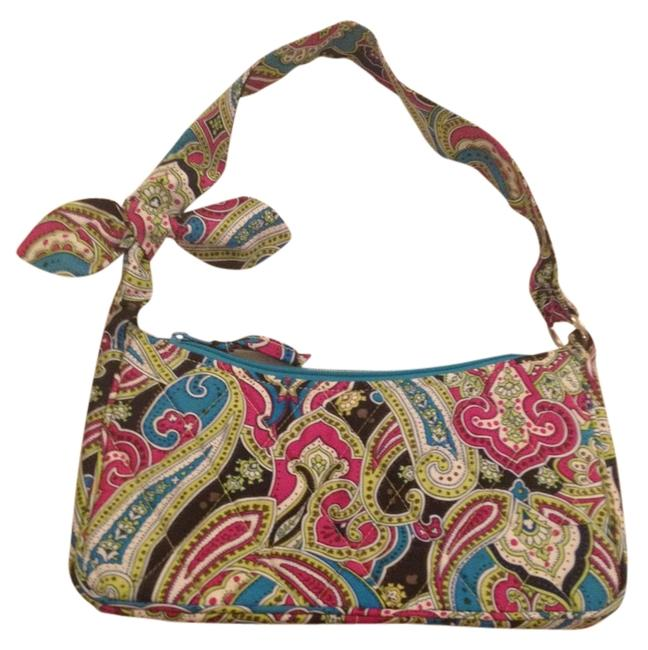 Item - Multi Paisley Silk Satchel