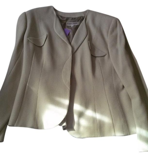 Item - Beige Made In Italy Jacket Size 12 (L)
