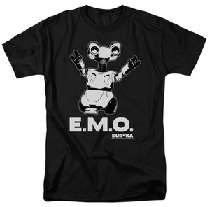 Eureka Clothing Company Party Print Emo T Shirt Black