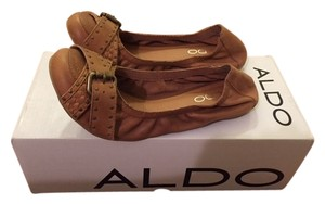 ALDO Light Tan Ballet Brown Flats