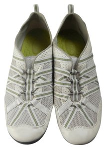 Privo Bungee Laces Size 10 White Flats