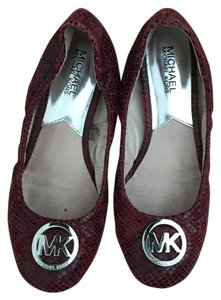 Michael Kors Mk Fashion Purple Flats