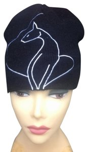Baby Phat RARE BABY PHAT LARGE LOGO KNIT BEANIE HAT ONE SIZE