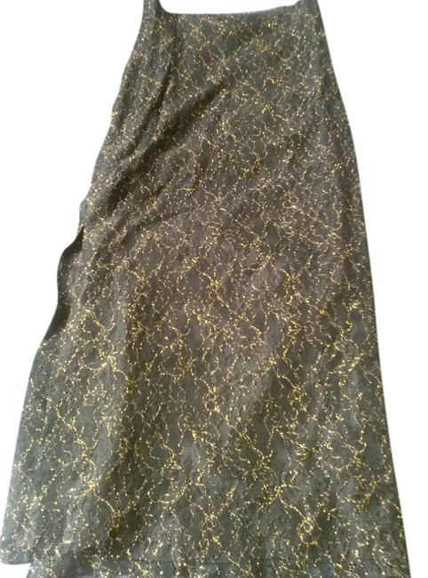 Preload https://img-static.tradesy.com/item/14340718/nicole-miller-black-with-golden-lace-maxi-skirt-size-8-m-29-30-0-1-650-650.jpg