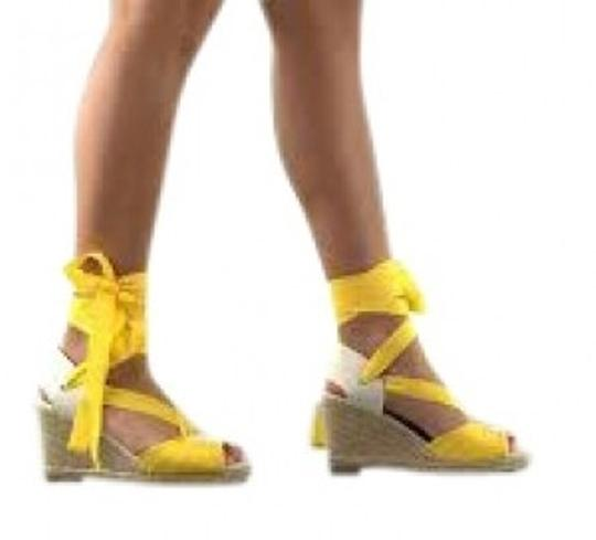 Lovely People Espadrille Riley Style Yellow Sandals