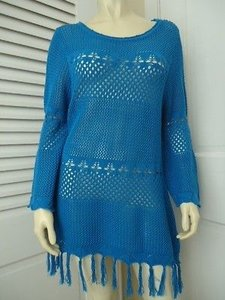 Other Joseph Inspired By Brasil Hippie Cotton Blend Pointelle Hot Sweater