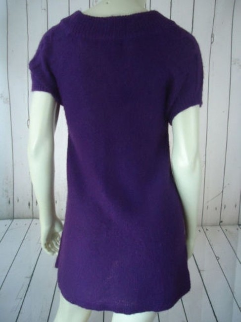 Other Mng Sportswear Fuzzy Mohair Acrylic Blend Trapeze Chic Sweater Image 5