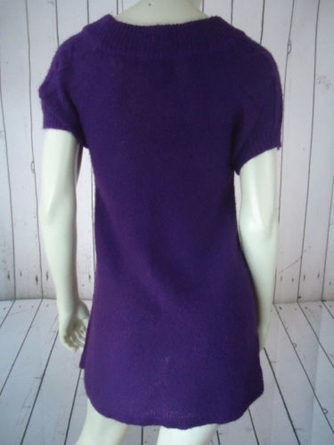 Other Mng Sportswear Fuzzy Mohair Acrylic Blend Trapeze Chic Sweater Image 6