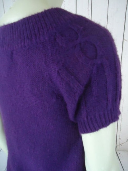 Other Mng Sportswear Fuzzy Mohair Acrylic Blend Trapeze Chic Sweater Image 7